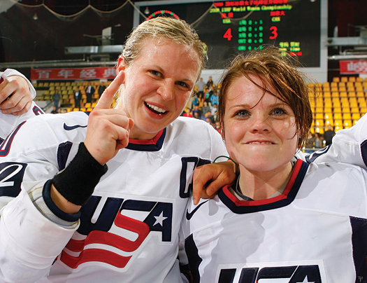 A mixture of new blood and veteran leadership put the U.S. Women's National Team on top.