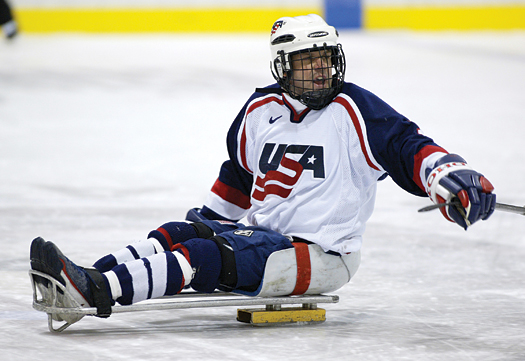Long-time U.S. Sled Hockey Team veteran Kip St. Germaine is excited about the future of the program.