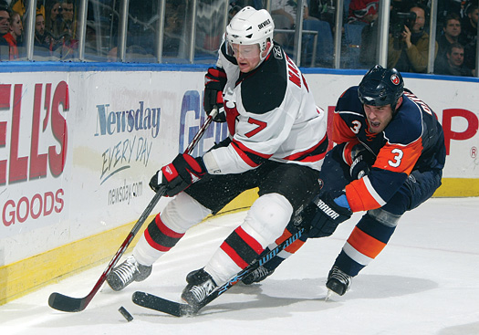 Now entering his fifth season with the New Jersey Devils, Paul Martin has earned the reputation as a slick-skating and solid NHL defenseman.