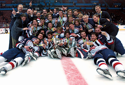 The victory by the U.S. National Junior Team at the 2004 IIHF World Junior Championship set the table for the 2010 and 2013 U.S. squads to bring home the gold.