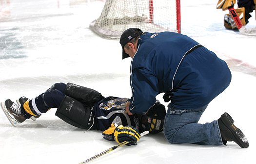 While the risk of injury will always exist in a contact sport like hockey, tremendous strides have been taken to make the game as safe as possible and fun to play and watch.