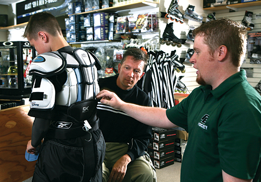Equipment companies continue to make advances in protective gear that keep players safe.