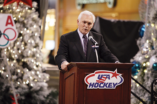 His grandfather Lou is among the most well-known hockey people in both Minnesota and around the country.