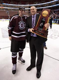 Rick Bennett took over for Nate Leaman at Union College and brought the Dutchmen to the pinnacle of college hockey when they won the 2014 NCAA title.