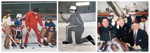 Whether he was  playing in an adult tournament or  working with kids,  Ron DeGregorio's passion for the game  was evident.