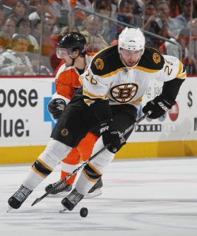 Robbinsdale, Minn. native, Blake Wheeler, had 38 points with the Boston Bruins last season, after being drafted witht he team in the 1st round of the 2004 draft.