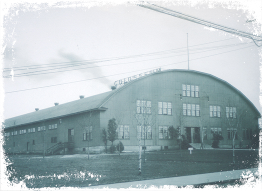 Despite many upgrades and improvements over the years, the Calumet Colosseum (seen here in the 1920s) has been able to maintain its historic charm.