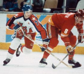 David A. Jensen was considered one of the fastest skaters on the 1984 U.S. Olympic Team.