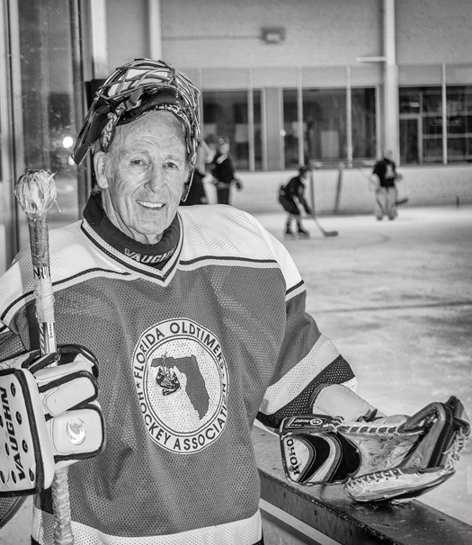 Norm Dann, who is 78 years young, continues to enjoy playing the game, and the position, that he's played for most of his life.