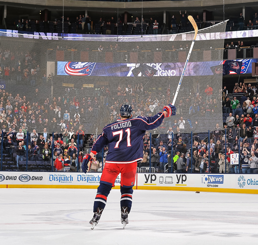 Since being traded from the Ottawa Senators to the Columbus Blue Jackets in 2012, Nick Foligno has quickly become a fan favorite and the face of the  franchise.