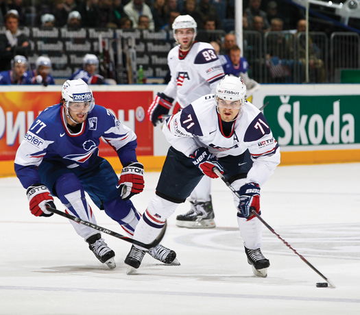 Nick Foligno represented the United States at the 2009 and 2010 IIHF World Championships.