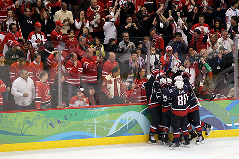 The 2010 Olympics, played on an NHL-sized sheet, had 5.80 goals per game, nearly a goal more per contest than 2018 in PyeongChang.
