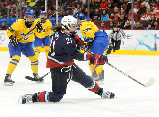 Hilary Knight is looking to take her game to an even higher level in 2014.