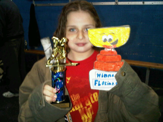 Verona's team took 2nd place after an OT hearbreaker, but Flat Stanley Cup is still proud of her. Go Panthers!