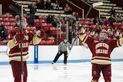 Cultivated at the Olympics and at Boston College, Keller and Barnes have formed a dynamic pairing that should drive play from the backend for the U.S. for years to come.