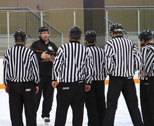Attending the Seminar Instructor Training Program allows experienced USA Hockey officials to give back to the game and the organization.