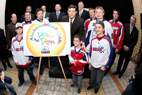 Pat LaFontaine for Champions With Courage