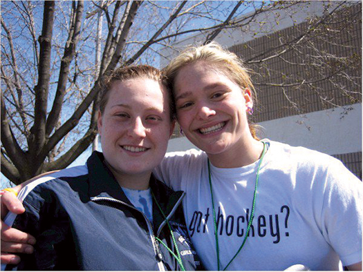 Lyndsey Fry and Elizabeth Turgeon were more than just teammates, they were sisters who shared a common bond that remains strong even today.