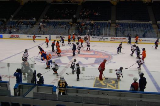 Nassau Coliseum and the Islanders held one of the biggest ASHA turnouts ever.