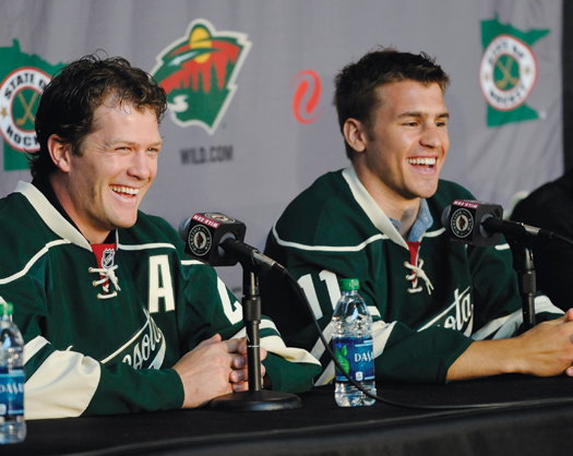 For Ryan Suter and Zach Parise, the move to the Minnesota Wild will be a homecoming of sorts. Parise hails from Minnesota where his father, J.P., was a star with the Minnesota North Stars. Suter is from Madison, WI, but his wife is from Bloomington, MN