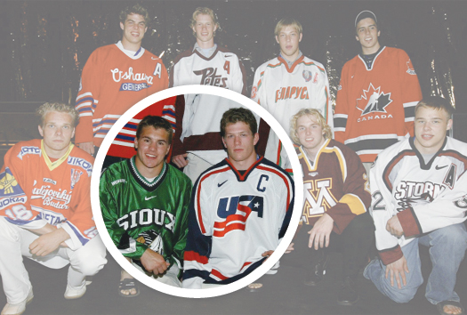 Both Parise and Suter were part of a deep NHL draft class in 2003.