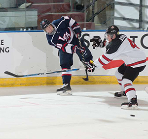 Brink sported a U.S. jersey back in December in the World Junior A Challenge. The winger had two goals and six assists for the U.S., helping lead the team to a first-place finish while grabbing MVP honors.