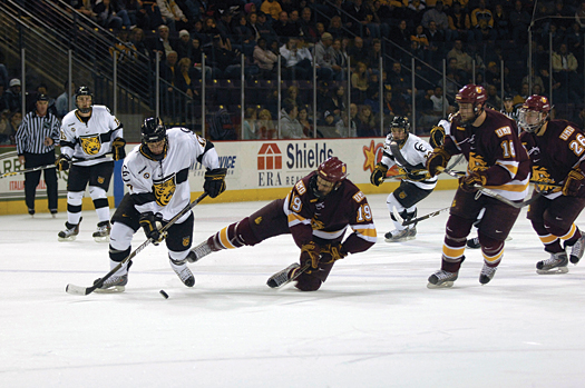 In-state rivals, Colorado College and the University of Denver, will be joined by Miami (Ohio) University, the University of North Dakota, the University of Minnesota-Duluth and the University of Nebraska-Omaha to form the NCHC.