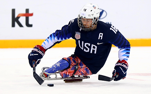 Farmer's 18 points in the 2018 Paralympic Games tied him for the U.S. team and tournament lead with teammate Brody Roybal.