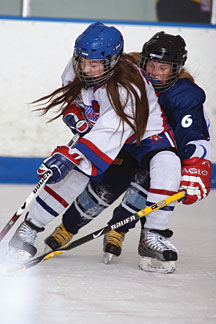 Not only has the number of girls playing hockey increased over the past decade, the quality of player has improved dramatically.