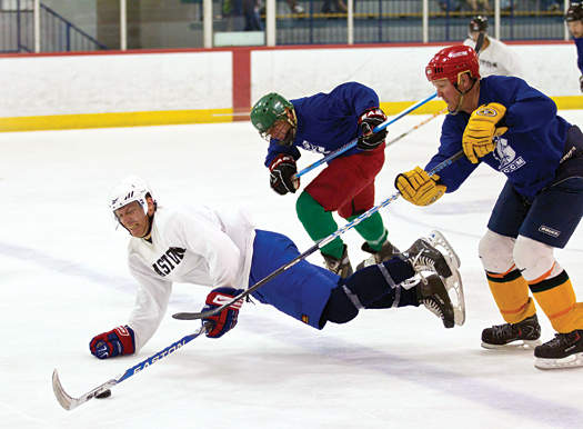 Adult players come to Florida for fun in the sun, but once they hit the ice they are all business in their quest for a USA Hockey National Championship title.