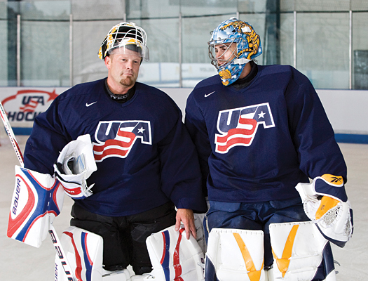 Miller looks to team with 2009 Vezina Trophy winner Tim Thomas to form a strong one-two punch in net for Team USA.