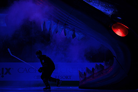 The SAP Center, home of the Sharks and this year's All-Star Game, are one of many rinks leading the push for sustainability. Their fuel cell system creates its own energy for the area.