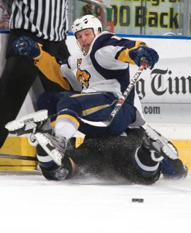 Though plagued by injuries in recent years, Tim Connolly hopes to lead the Buffalo Sabres back to the playoffs in 2009-10.