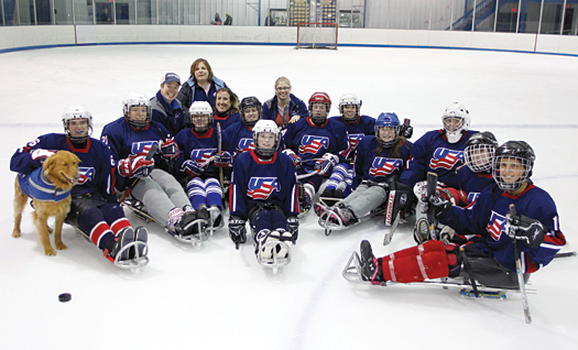 The U.S. Women's Sled Hockey Program is still in its infancy, but there is no questioning the desire and determination these hockey players have for their sport.